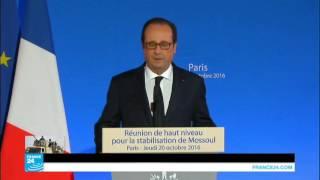 """الرئيس الفرنسي: """"تنظيم الدولة الإسلامية يتراجع في كل مكان"""""""