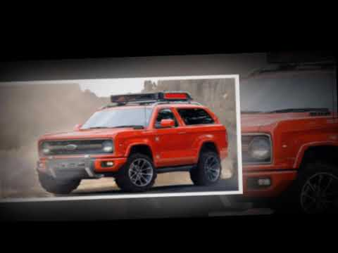2019 Ford Baby Bronco Baby off road - Rendering .