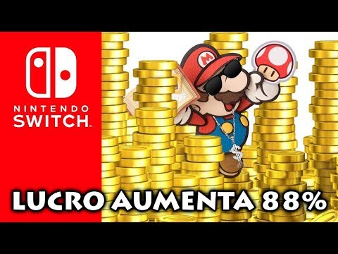 Nintendo Alcança 88% De LUCRO Graças Ao SWITCH | NES CLASSIC EDITION Console Mais Vendido Em Junho
