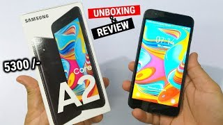 Samsung Galaxy A2 Core Unboxing and Full Review in HINDI II Budget Phone 5290/-