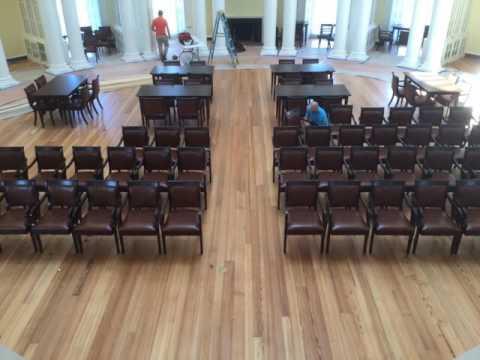 AGATI Furniture Timelapse - Installation - UVA Rotunda (2016)