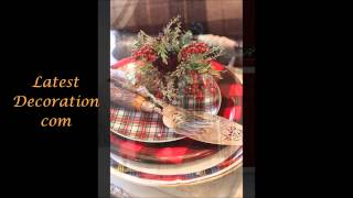 Latest Christmas Decoration Ideas