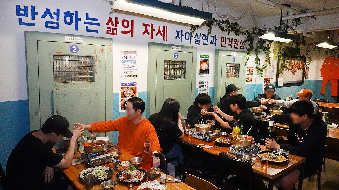 한달에 제육만600kg씩 팔리는 교도소? 꼬꼬무 뒷배경의 그곳! 역대급 안주로 코로나를 이겨낸 매장┃unique Korean Restaurant /Korean street food