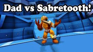 marvel super hero squad online my dad 70 years old vs sabretooth 720p hd
