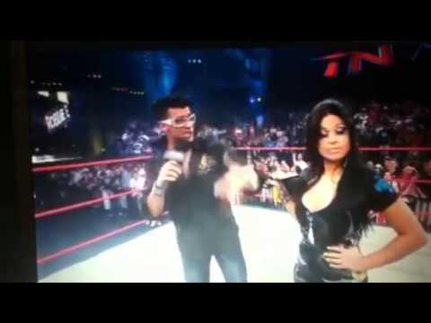 TNA impact 10/14/10 Jwow,Angelina love, Lacey Von Erich, ve
