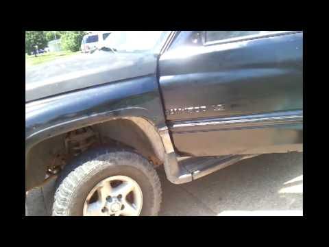 Replacing 97 Dodge Ram Driver Door Extended Cab