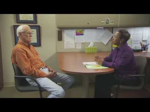 Distressed Patient and Doctor (Psychiatrist), discuss treatment options
