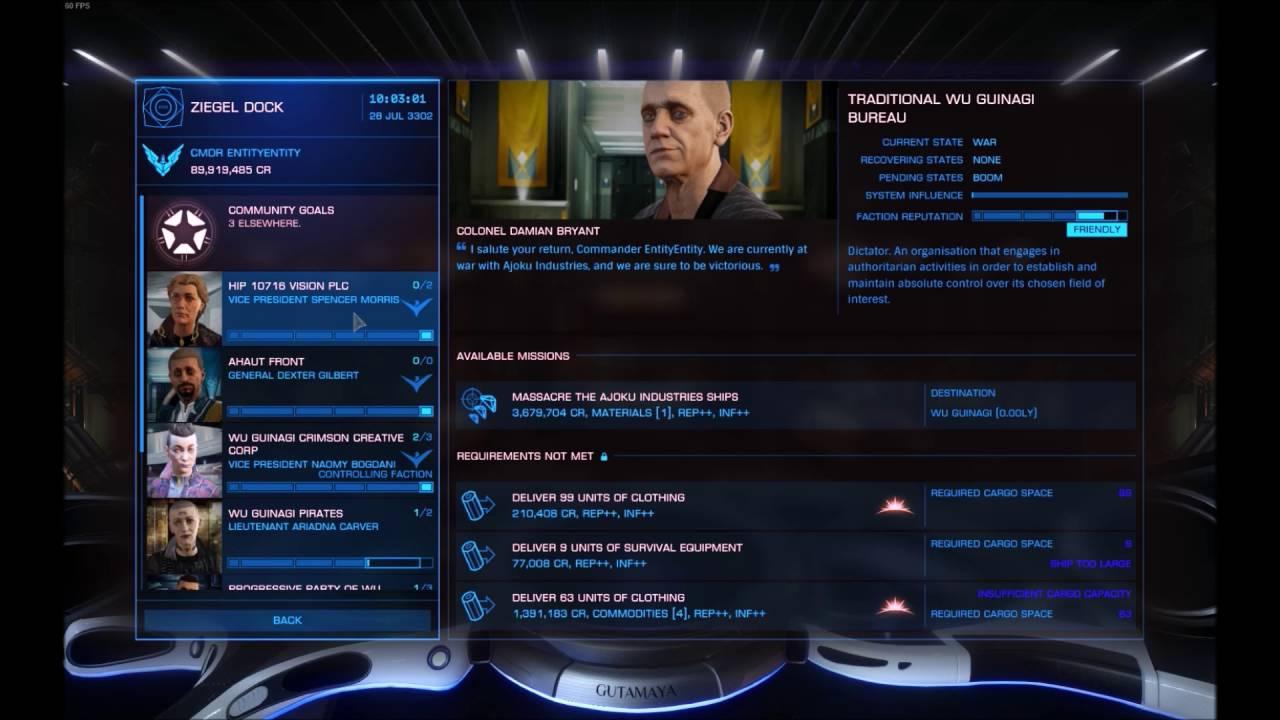 Elite: Dangerous - EASY AND QUICK EMPIRE RANKING METHOD 3