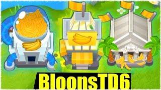 🔥 ALLE LEVEL 5 AFFEN ZEITGLEICH SPIELEN! - Bloons td 6