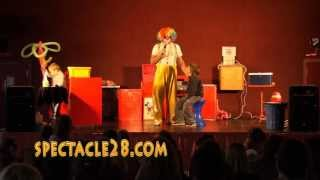 spectacle28.com fred clown magicien ballons sculptesVOVES SENONCHES ILLIERS COMBRAY EURE ET LOIR 28