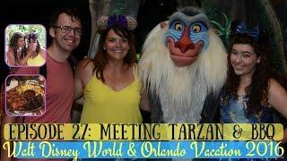 WALT DISNEY WORLD & ORLANDO VACATION SEPT 2016 VLOG | HOLLYWOOD, MAGIC KINGDOM & BBQ | KRISPYSMORE