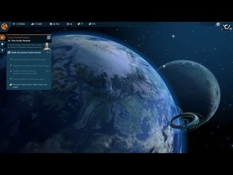 Anno 2205 walkthrough part 5. Corp levels 18-23. Fusion Reactor and energy transfer