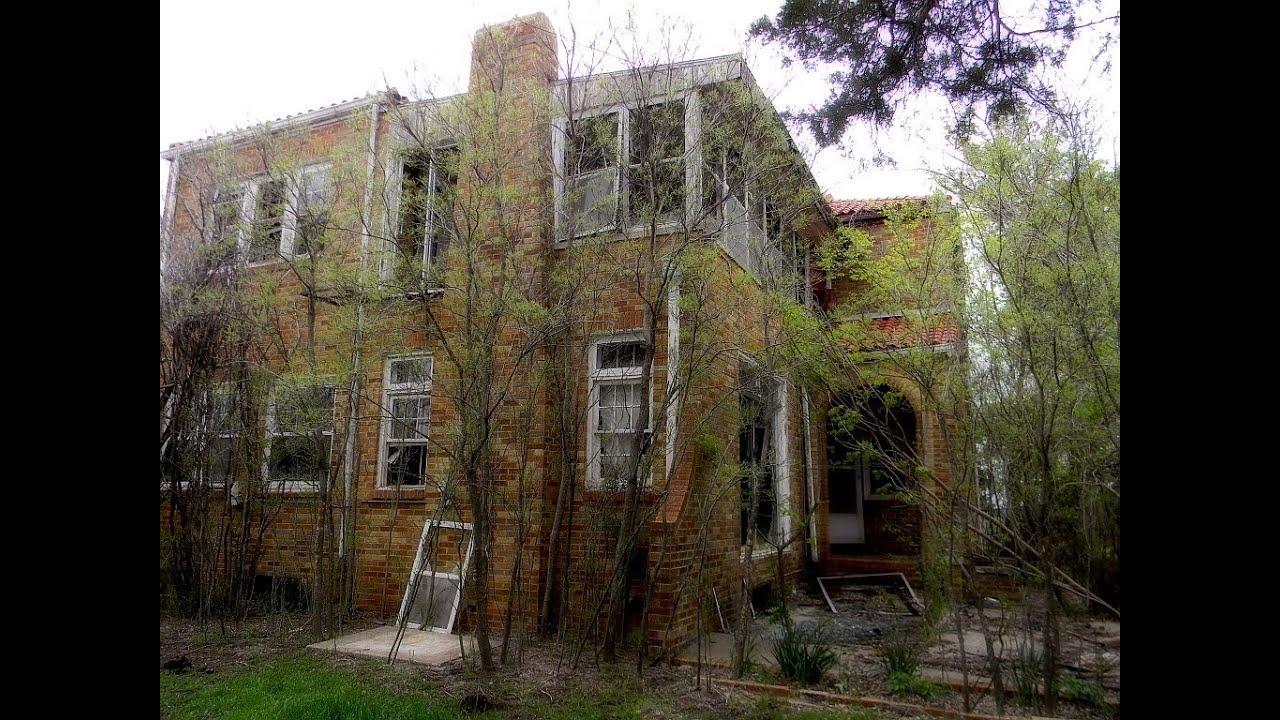 Abandoned Tallchief Mansion in Fairfax, Oklahoma - YouTube