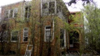 Abandoned Tallchief Mansion in Fairfax, Oklahoma