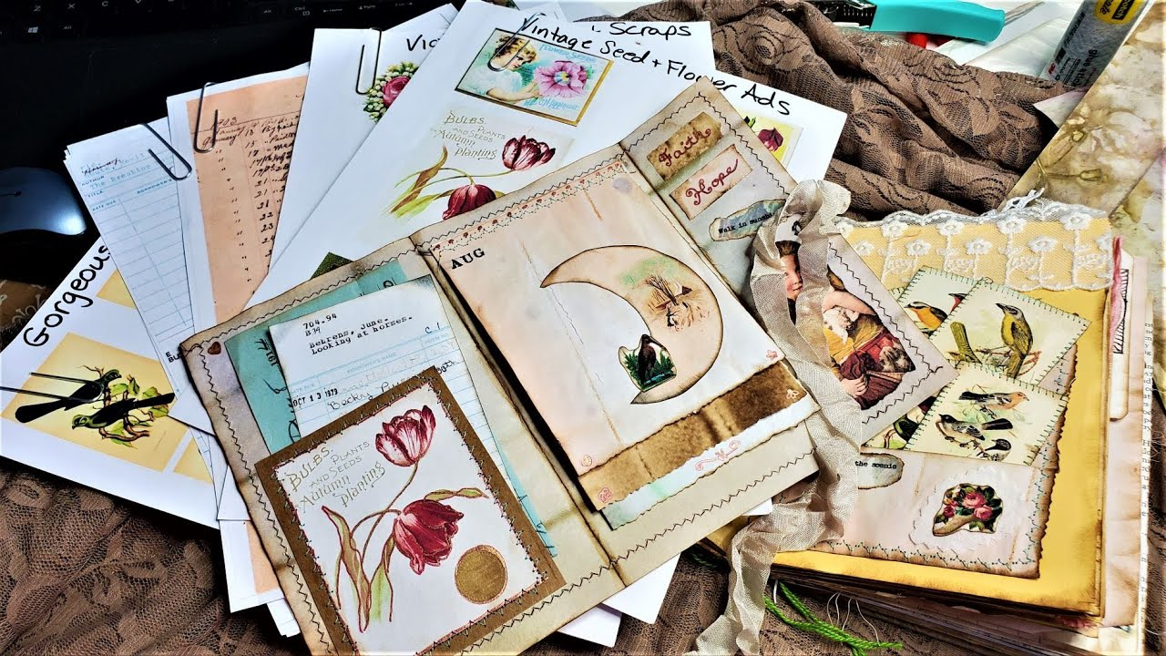 BRAND NEW JULY DIGIKITS! PLUS Fun Projects! Flowers, Birds & More! Junk Journals! The Paper Outpost!