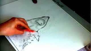 how to draw Jaws (shark)