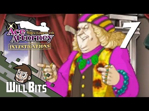 Ace Attorney Investigations, PART 7 -- The Borginian Art Dealer