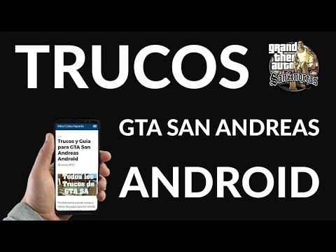 Trucos y Guía para GTA San Andreas Android