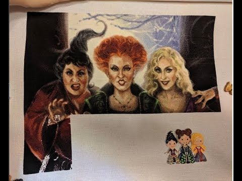 Cross Stitch #13: Great Scott! I Show (and Cough) A Lot! Stitch Update, Haul, Diamond Painting