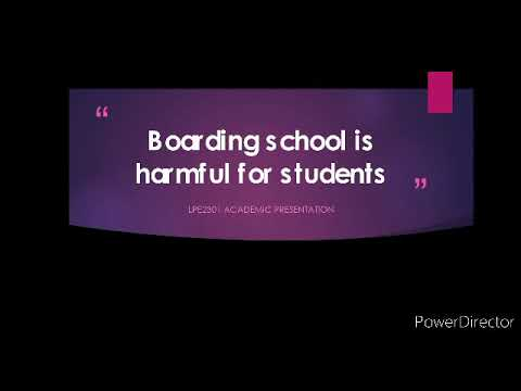Download Why Boarding School is Harmful for Student