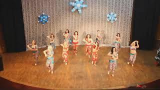 Bollywood тренер Татаринова Юлия индийские танцы Новогодний Концерт СТ Rakassa 24.12.17