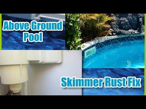 Skimmer Rust - Fixed Semi Above Ground Pool