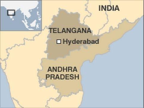 Where Is Hyderabad Located In India Map.India New State Telangana Telangana Andhra Pradesh Hyderabad