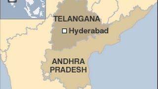 "India New State Telangana - ""Telangana"" - Andhra Pradesh - Hyderabad - Telangana"