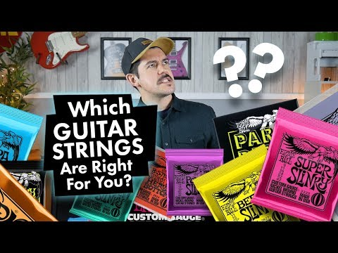 What Guitar Strings Are Right For You? | Ernie Ball