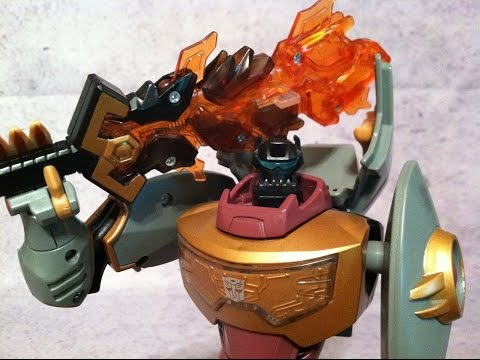Grimlock - Transformers Animated Voyager Review
