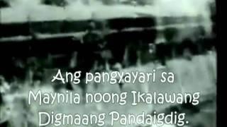 Ang Pangyayari Noong Ikalawang Digmaan sa Pilipinas