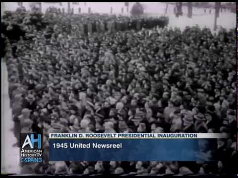 Franklin D. Roosevelt's 1945 Presidential Inauguration