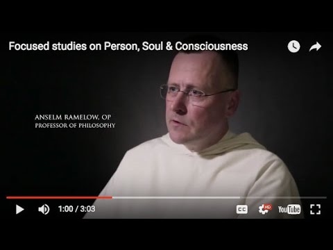 Focused studies on Person, Soul & Consciousness