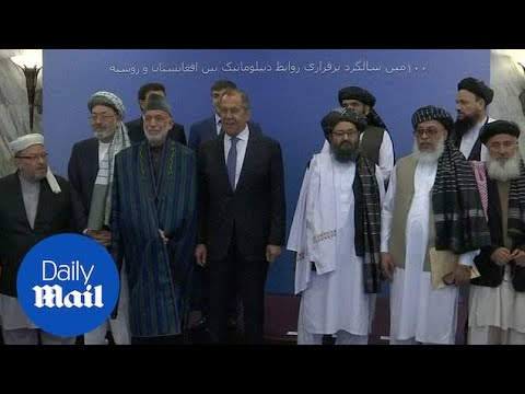 Taliban and Afghani leaders meet in Russia for peace talks