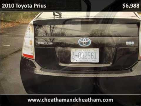 Used Cars Sanford Nc >> 2010 Toyota Prius Used Cars Sanford Nc