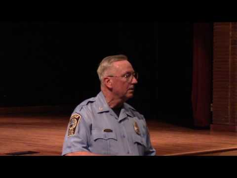 Police Chief Barry Barnard July 2017 Conversation with the Chief