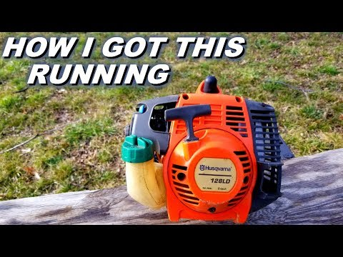 Getting a Husqvarna trimmer running again