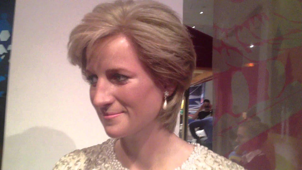 Princesse Diana Wax Figure Madame Tussauds Youtube