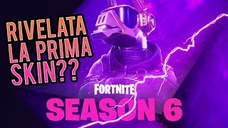 SEASON 6: RIVELATA LA PRIMA SKIN DEL PASS BATTAGLIA? Fortnite Italia