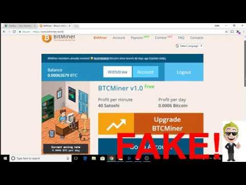 Bitminer.world Bitminer.io Real Or Fake Review - Mining Free Bitcoin