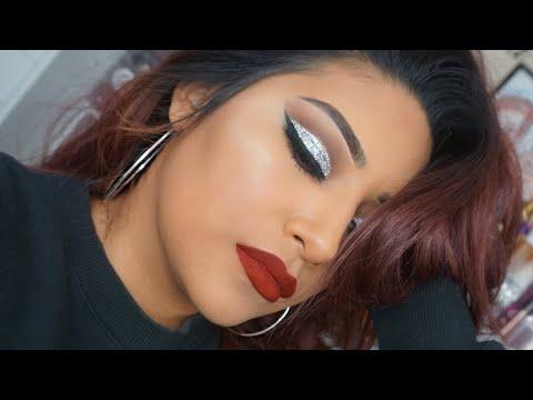 Holiday Eyeshadow Tutorial Using Winky Lux Kitten Eyeshadow Palette + Giveaway!