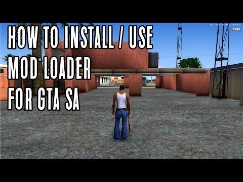 GTA San Andreas - Installing Modloader