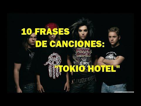 10 Frases De Canciones Tokio Hotel