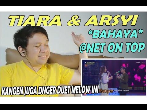 Download Arsy & Tiara - Bahaya  @Net on top ❗ REACTION!