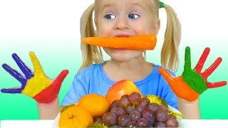 Lunch Song на русском - Детская песня | Песни для детей от Кати и Димы