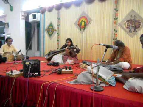 Oorellam Unnai Kandu Instrumental Cover Nayanthara song in Veena by Sai Charanya Ashwin