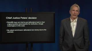 Contract Law 71 V Bernstein v Nemeyer