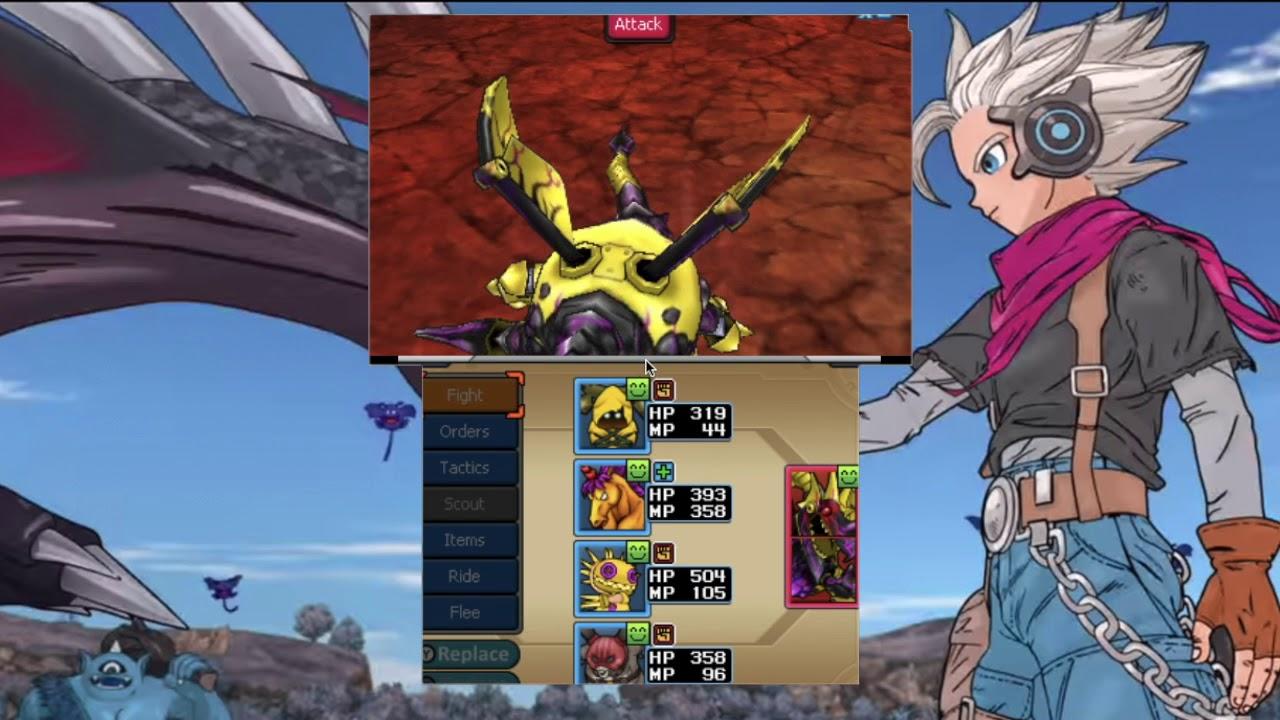 DQMJ3 Deathvyrm Boss Battle
