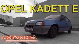 Opel Kadett E z automatem - MotoBieda
