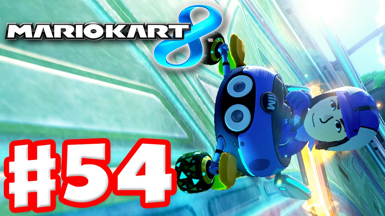 Mario kart 8 gameplay part 54 mirror crossing cup a for Mirror gameplay walkthrough